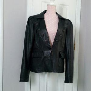 Leather jacket - genuine leather